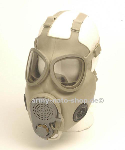 ABC-Schutzmaske, NVA M10M neuw. (mit 2 integrierten Backenfilt..