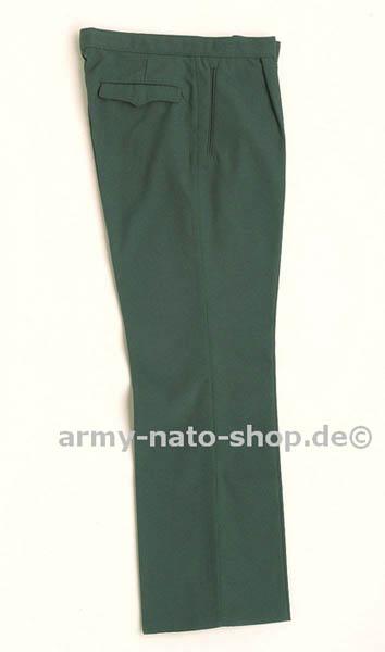 Uniformhose (Gabardine), DDR VoPo grün neu