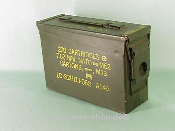 Munitionskiste, US klein gebraucht (Größe 1)