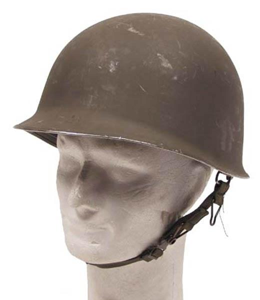 Öster. Helm M1 gebr. mit Kunstsoff Innenhelm