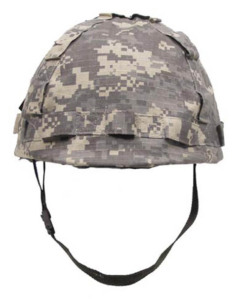 US Helm Kunststoff, mit Stoffbezug AT digital