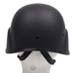 US Helm MICH, schwarz, Kunststoff