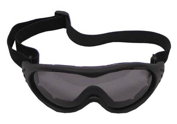 Bikerbrille, Eagle1, schwarz
