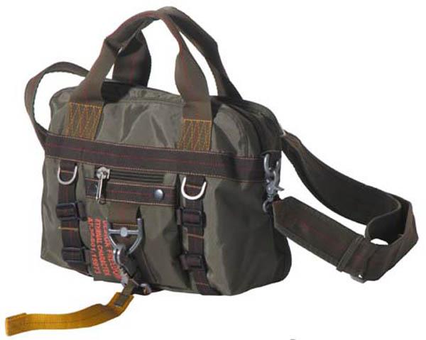 Handtasche mit Schultergurt, klein, PT, Karabinerhacken