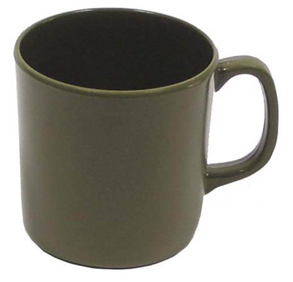Tasse, Melamine, 350 ml, oliv