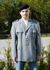 Uniformjacke, orig. Bw Heer grau neu