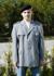 Uniformjacke, Bw Heer grau gebraucht/rep.