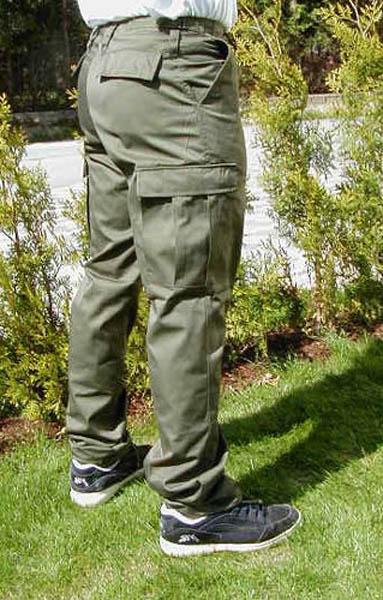 Rangerhose, US oliv neu