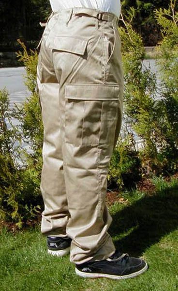 Rangerhose, US khaki neu