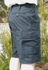 Bermuda-Feldhose, Bw schwarz neu