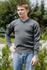 Pullover, Bw grau V-Ausschnitt neu