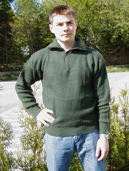 Pullover (Troyer), Acryl oliv neu