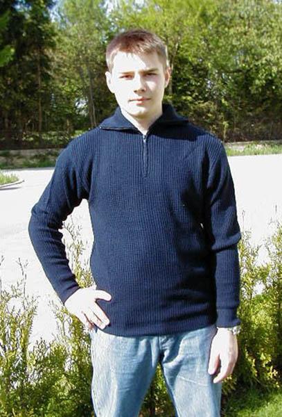 Pullover (Troyer), Acryl blau neu