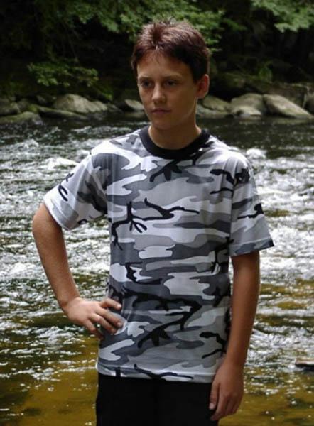 T-Shirt, Kinder metro neu