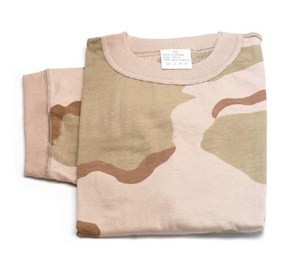 Kinder T-Shirt, US 3-Farben desert neu