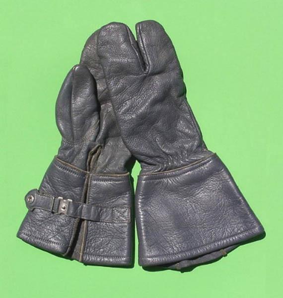 Lederhandschuhe (Kradfahrer), Bw gebraucht/rep.