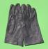 Lederhandschuhe (ohne Futter), Bw grau gebraucht/rep.