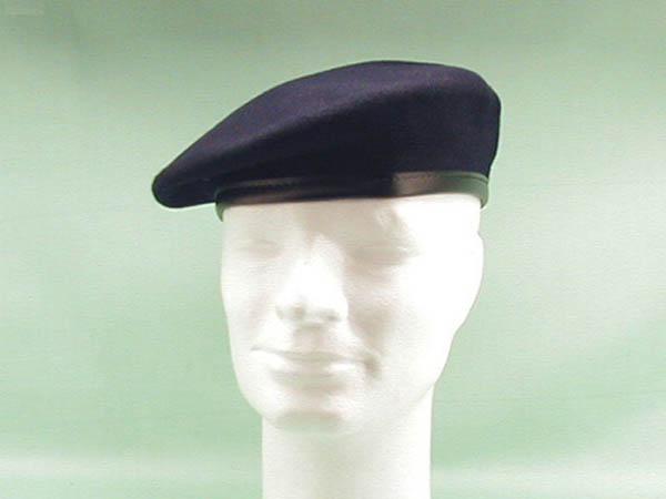 Barett, orig. Bw marineblau neu