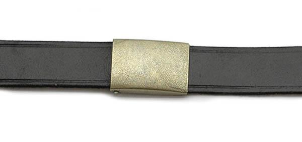 Ledergürtel, Bw Imit. schwarz neu (100 cm)