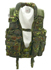 Tactical-Weste mit Lederbesatz, 5-Farben flecktarn neu