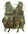Tactical-Weste mit Netzeinsatz, 5-Farben flecktarn neu