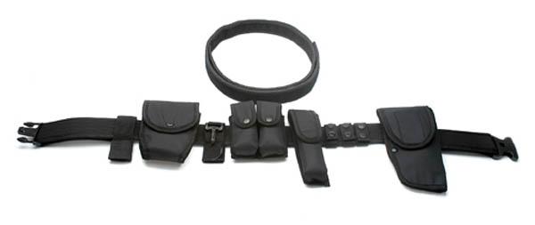 Tactical-Koppel-Set, schwarz neu (11-tlg.)