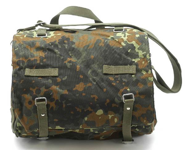 Kampftasche mit Tragegurt, Bw Imit. groß 5-Farben flecktarn neu