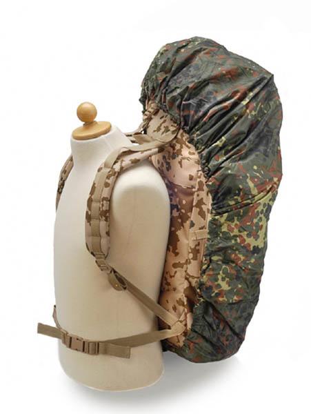 Überzug (Cover), für Kampfrucksack, flecktarn, tropentarn neu