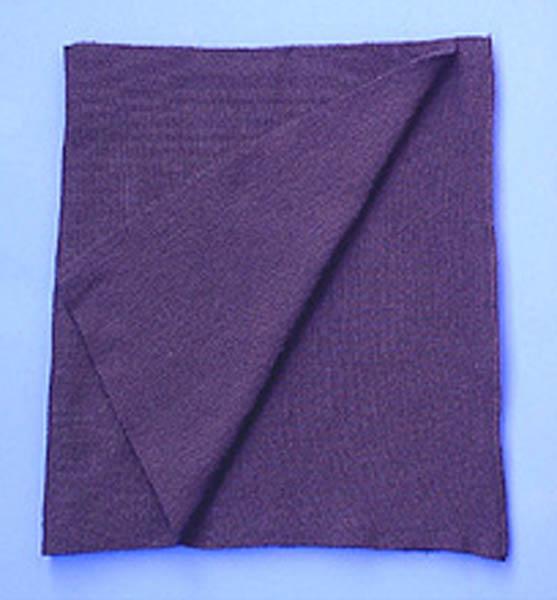 Schal, Bw Wolle blau gebraucht/rep.