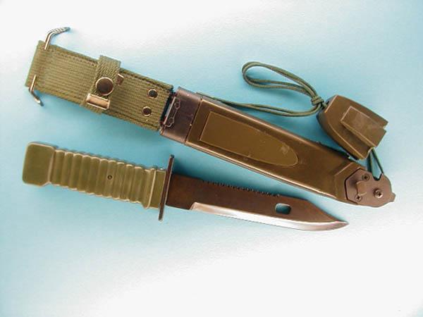 Messer, Bayonet US Typ mit Schere neu