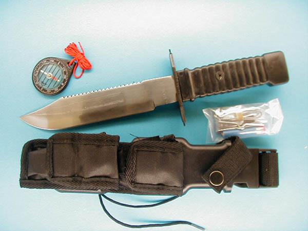 Messer, Special Force schwarz neu