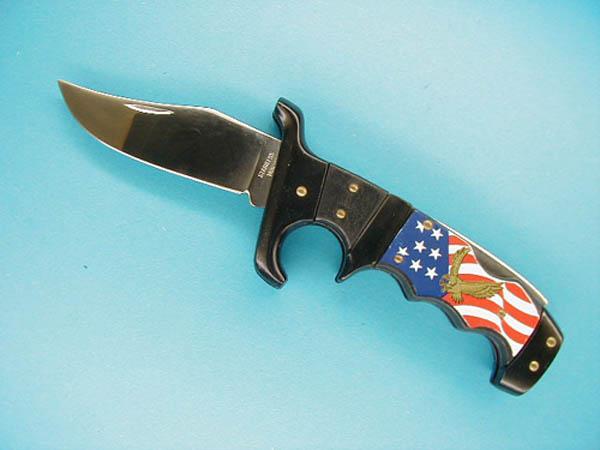 Tigermesser, US-Flagge neu