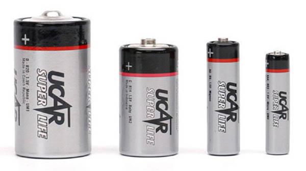 Batterien, Mignon / AA-Size, Marke UCAR, 1.5 V Super Life (VE ..