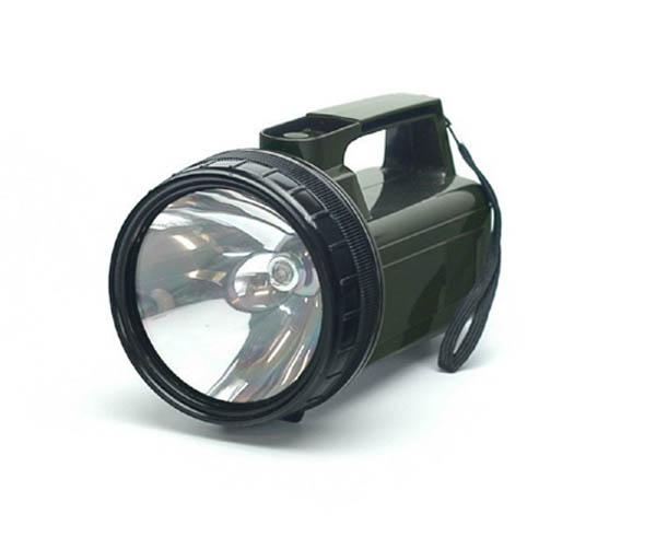Blocktaschenlampe, US oliv (für Batterien 4 x D)