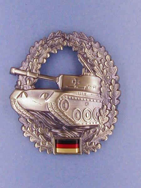 Barettabzeichen, Bw Panzertruppe neu