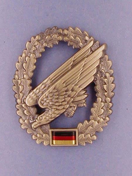 Barettabzeichen, Bw Fallschirmjägertruppe neu