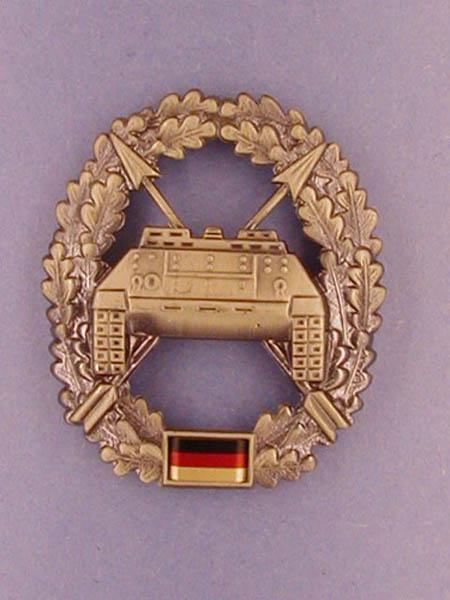 Barettabzeichen, Bw Panzerjägertruppe neu