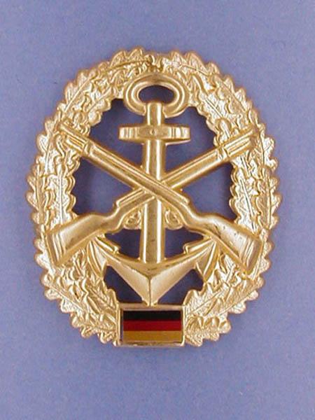 Barettabzeichen, Bw Marine-Sicherung neu