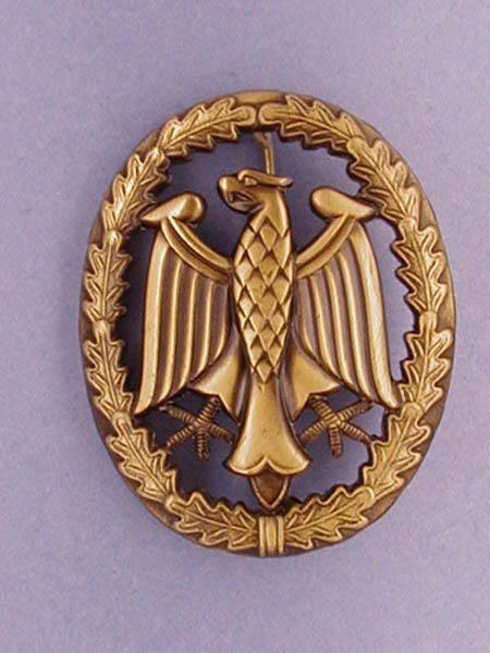 Leistungsabzeichen, Bw Metall neu (Bronze)