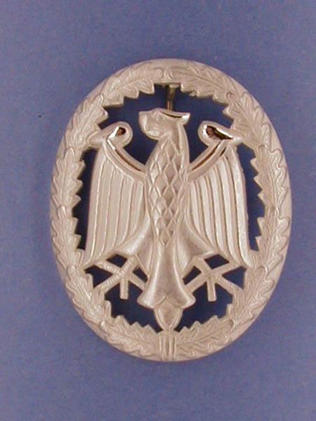 Leistungsabzeichen, Bw Metall neu (Silber)