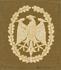 Leistungsabzeichen, Bw Stoff neu (Bronze)