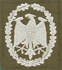 Leistungsabzeichen, Bw Stoff neu (Silber)