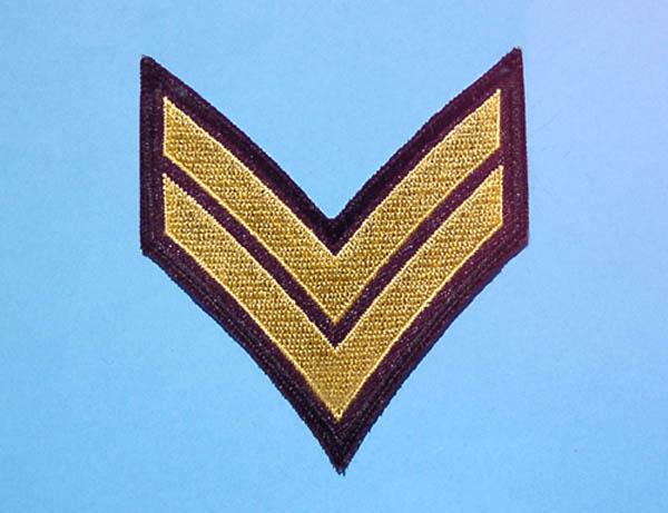 Armabzeichen, US Corporal neu