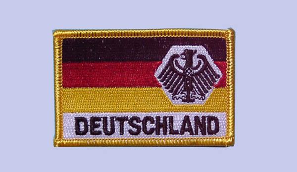 Armabzeichen, Flagge Deutschland mit Adler neu