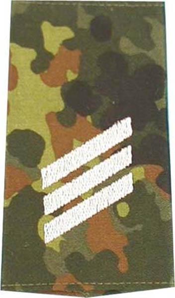 Rangabzeichen, Bw Heer tarn/silber Hauptgefreiter