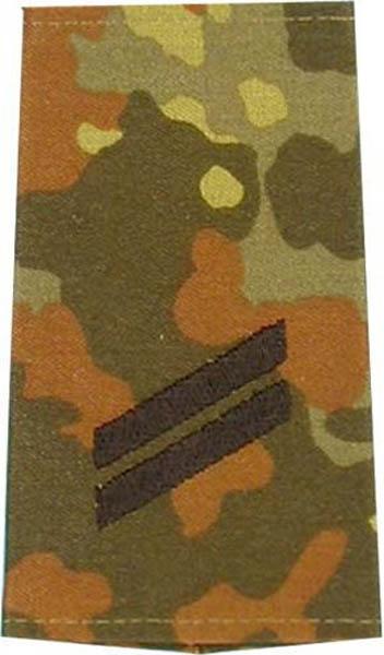 Rangabzeichen, Bw Heer tarn/schwarz Obergefreiter