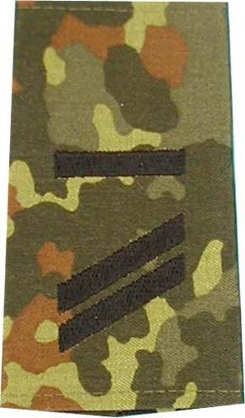 Rangabzeichen, Bw Heer tarn/schwarz Obergefreiter UA