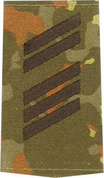 Rangabzeichen, Bw Heer tarn/schwarz Oberstabsgefreiter