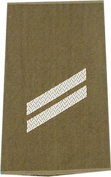 Rangabzeichen, Bw Heer oliv/silber Obergefreiter