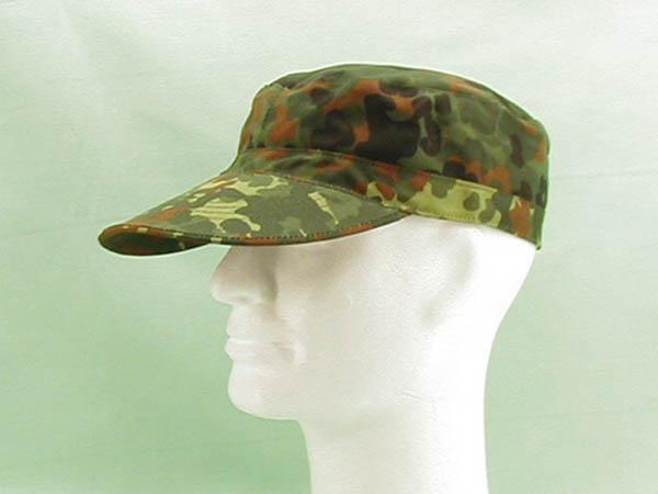 Cap mit Gummizug, US 5-Farben flecktarn neu